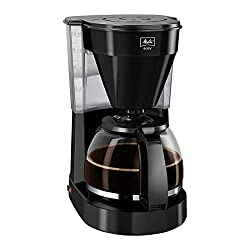 Melitta Easy 1023-02 Filter-Kaffeemaschine aus Kunststoff, schwarz