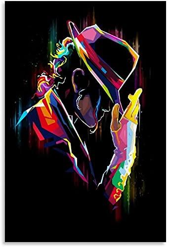 Puzzle 120 Pièces Adultes Enfant Michael Jackson Singer Moderne Couleur et Image Moderne en bois puzzles dagogique jeu Enfant 120 Pieces 1000 Piece 29.5x19.6inch(75x50cm) Sans Cadre