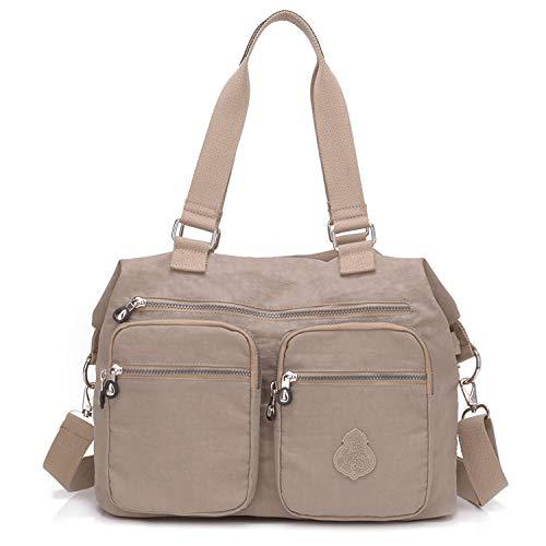 Outreo Bolsos de Moda Mujer Messenger Bag Bolso Bandolera Bolsas de Viaje...
