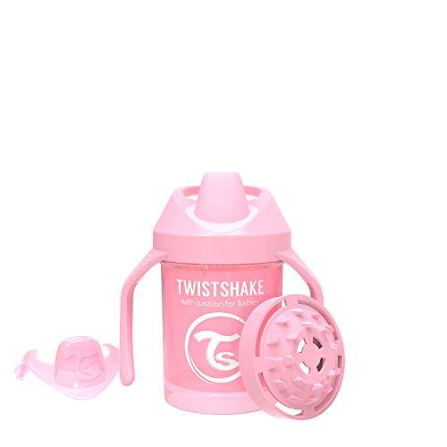 Twistshake 78267 - Vaso con boquilla, color pastel rosa