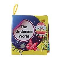 #N/A 赤ちゃんのおもちゃのおもちゃの教育的な布の本の早期学習の読書動物の果物 - 海洋世界