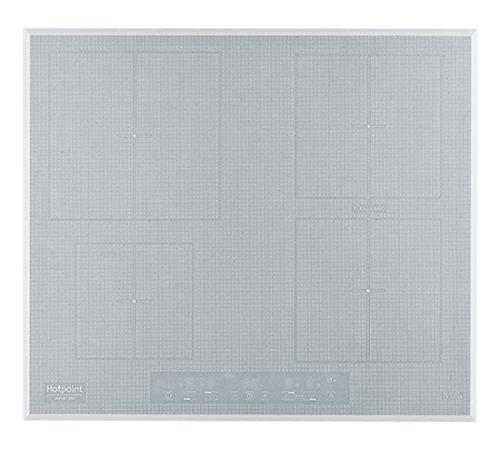 Hotpoint KIA 641 B B (WH) Incasso A induzione Bianco piano cottura