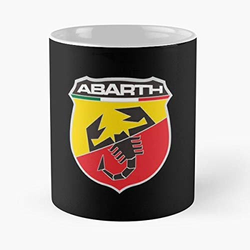 5TheWay Logo Mug Abarth Merchandise Best 11 oz Kaffeebecher - Nespresso Tassen Kaffee Motive