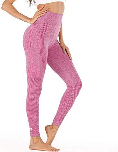 PEACHY PASSION Leggings deportivos para mujer, sin costuras, cintura alta, pantalones largos de deporte para fitness, yoga, gimnasio y correr.