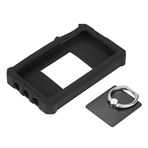 Silikon-Schutzhülle für Oszilloskop, Silikon-Schutzhülle mit Ringständer für DS212 Mini Digital-Oszilloskop, Schwarz