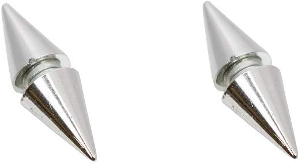 Luxe Modz Faux Earrings Magnetic Cubic Zirconia