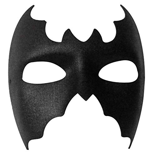 BLACK EYE MASK MASQUERADE SUPER HERO FANCY DRESS BAT MAN MASK (BATMAN MASK) by TrendyFashion