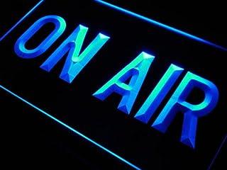 LED看板 ネオンプレート サイン 電飾・店舗看板・標識・サイン カフェ バー ADV PRO m028-b On Air Studio Neon Light Sign