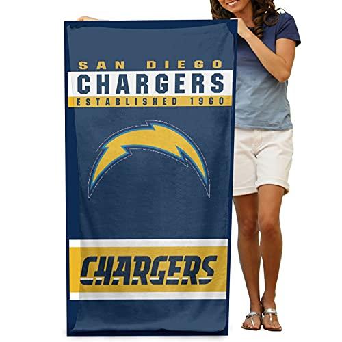 Beach Towels,Chargers Quick Dry and Ultra-Soft Bath Sheets for Women Men Best Friend Boyfriend Girlfriend 32x52 inch