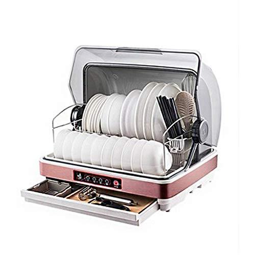 Gabinete De DesinfeccióN Hogar PequeñO Escritorio Mini DesinfeccióN Armario Cocina Vajilla Secador EsterilizacióN UV Gabinete De Limpieza 46 × 37 × 43cm
