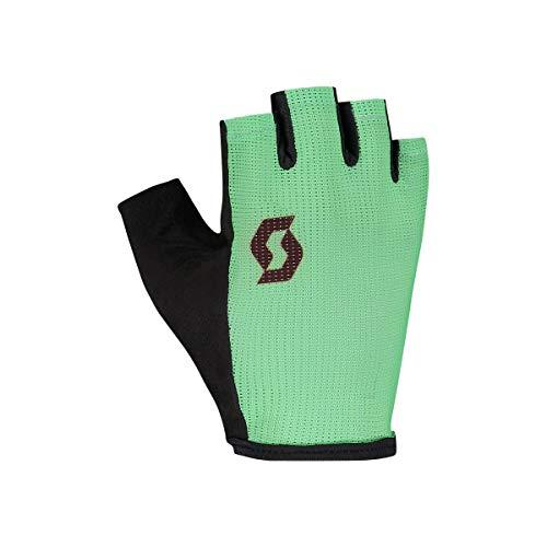 Scott Aspect Sport Junior Kinder Fahrrad Handschuhe kurz grÃŒn/schwarz 2020: Größe: M (6)
