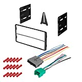 CACHÉ KIT345 Bundle with Car Stereo Installation Kit for Ford 1995 – 1997 Ranger – in Dash Mounting Kit, and Harness for Double Din Radio Receivers (3 Item)