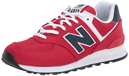 New Balance Herren 574v2 Sneaker, Rot (Red/Navy Sch), 40 EU
