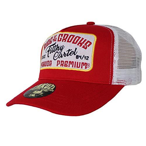 Yakuza Premium Truckercap 2583 rot Snapback