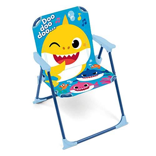 ARDITEX SK13552 Silla Plegable con Brazos de 38x32x53cm de Nickelodeon-Baby Shark
