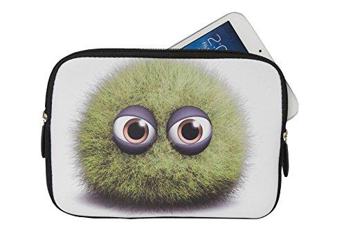Reissverschluss Tablet PC Notebook Tasche Schutz Hülle mit Motiv 'Wuschel' geeignet für 'Huawei MediaPad M2 10.0' Case Sleeve Etui