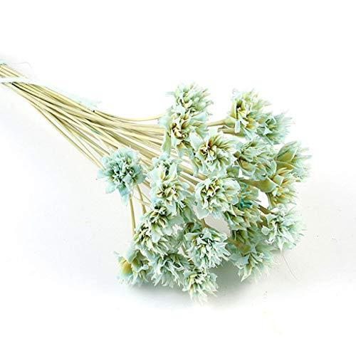 Vaeiner - 12 flores secas de resina epoxi, con relieve de flores etern