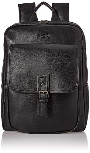 Kenneth Cole Reaction Lightweight Faux Leather Collection, Black, One Size