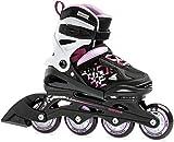 Rollerblade Mädchen Thunder Inlineskate, Black/Lilac, 210