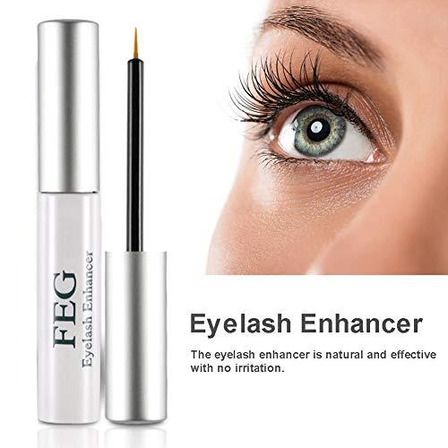 Eyelash Enhancer Eye Lash Rapid Growth Serum Flüssigkeit, 100 Original Natural Nourishing Moisturizing Kraftvolles Wimpernwachstumsserum für Augenbrauen
