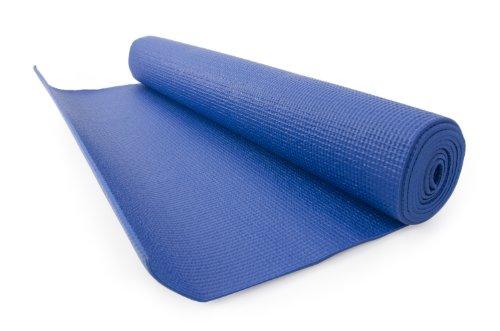 FA Sports Yogiplus, Stuoia di Yoga Unisex Adult, Blu, 173 x 61 x 0.8 cm