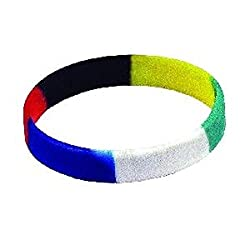 Colors of Salvation Silicone Bracelets Christian Pack