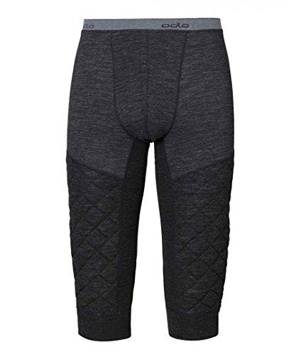 Odlo Pants 3/4 Revolution TW X-Warm Caleçon Long He/uni. Homme, Mélange Bleu Marine, XL
