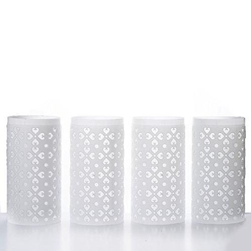 Efavormart 4PCS Venetian Roman PVC Wedding Columns EXTENSION Parts