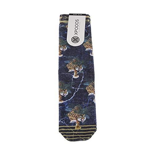 XPOOOS Socke mittelhoch - 1 paar - Tier - Multicolore - Skyler - One Size