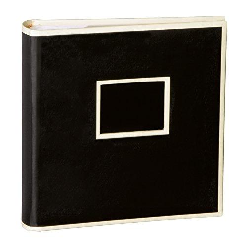Semikolon (351136) 200 Pocket Album black (schwarz) - Fotoalbum/Fotobuch mit Einschubtaschen für 200 Bilder im Format 10x15 cm - 2 Bilder pro Seite
