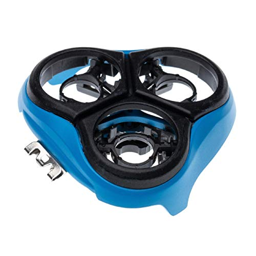 vhbw Marcos de cabezal, soporte compatible con Philips AT750, AT751, AT752, AT753, AT754, AT757, AT758, AT798 afeitadora, azul