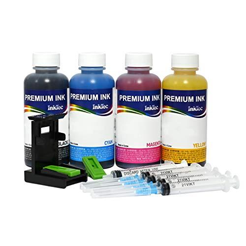 Recarga Cartuchos 304 304XL Negro y Color, Tinta para Impresora Envy 5032