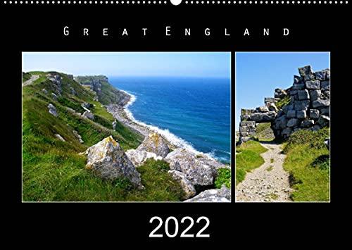 Great England 2022 (Wandkalender 2022 DIN A2 quer)