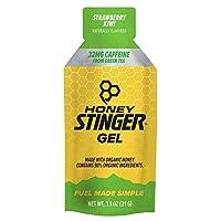 Honey Stinger Organic Energy Gels - Kiwi Strawberry Naturally Caffeinated, One Size by Honey Stinger