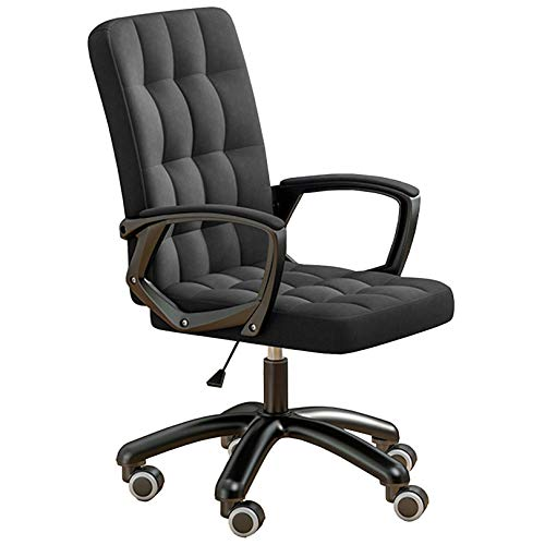 YYAI-HHJU Liftable Linen Swivel Office Chair, Ergonomischer Bürostuhl Für Home Desk Chair Computerstühle Sitzhöhe: 42-51 cm