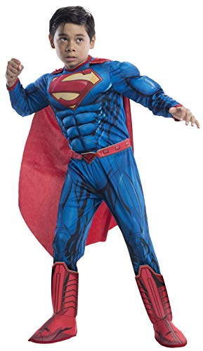 Rubie's Costume DC Superheroes Superman Deluxe Child Costume, Small