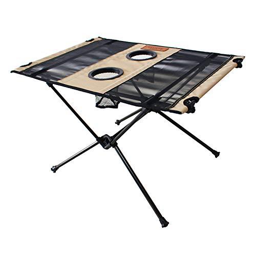[わずか700gのキャンプテーブル] rabbit-foot outdoors コンパクト アウトドア テーブル 折りたたみ式 [...