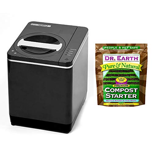 Buy Discount Food Cycler Platinum Indoor Food Recycler and Kitchen Compost Container PLUS Dr. Earth ...