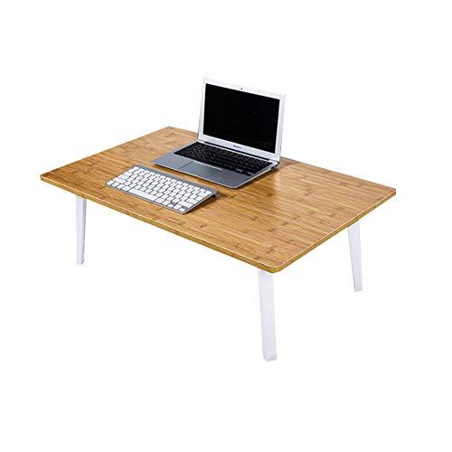 ZLL klaptafel - Verhoogde laptop om een tafel te maken met een opvouwbare kleine tafel College slaapzaal Lazy Study Bureau - Maat: 80x50x35cm kind opklapbare bed tafel