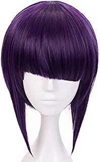 MUZI WIG Anime Cosplay Wig with Free Wig Cap for My Hero Academia (Jirou Kyouka)