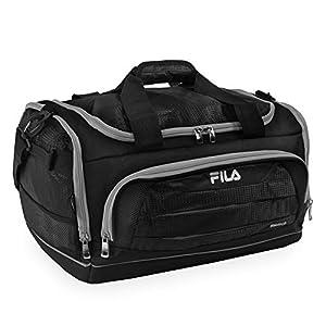 410ggzAxlUL. SS300  - Fila Cypress Small Sport Duffel Bag, Bolsa de lona Unisex Adulto