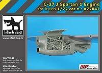 ブラックドッグ A72047 1/72 C-27 J スパルタン 1 エンジン (イタレリ用)