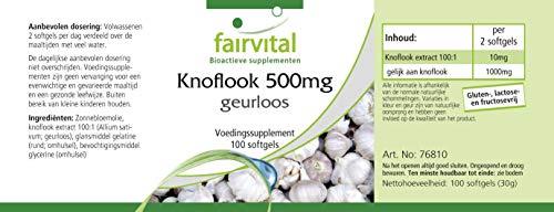 Knoblauch geruchlos 500mg 100 Softgels - 7