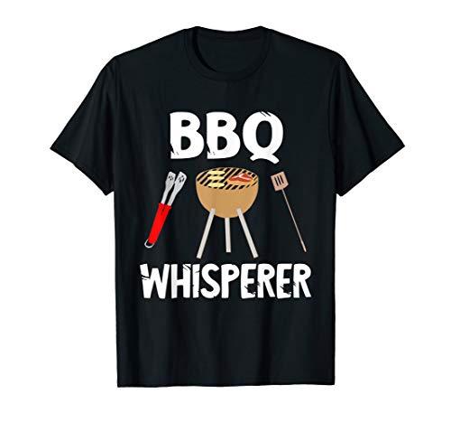 BBQ Whisperer Grill Flüsterer Grillmeister Grillen Griller T-Shirt