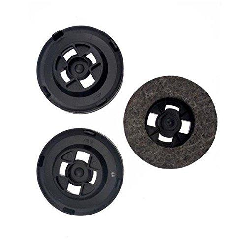 Z16 disques feutres (x3) - achat après 2007 - Cireuse - ELECTROLUX, HOOVER