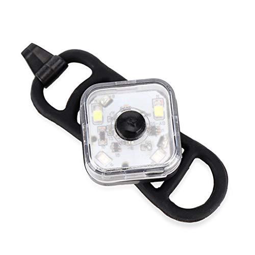 Abcidubxc Luz de seguridad para bicicleta de montaña, luz delantera y trasera