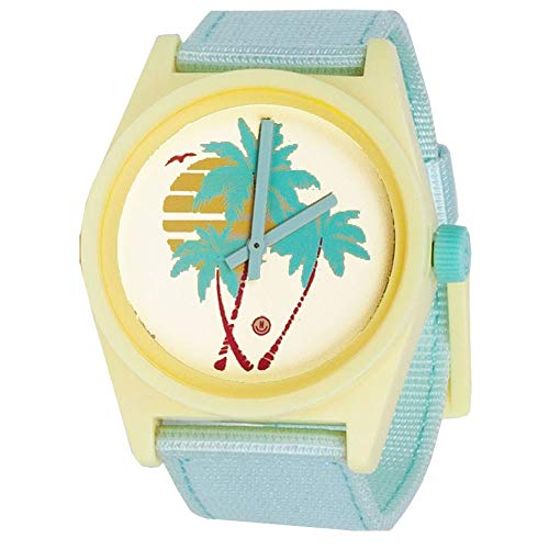 Neff Unisex Daily Wild Analog Watch Mint Lemonade Yellow