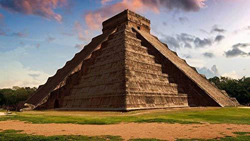 Puzzel 1000 Stukjes,Oude Piramide,Puzzeltjes Voor Volwassenen En Kinderen Voor Familie, Educatief Speelgoed Voor Volwassenen Vrienden Verjaardagscadeau