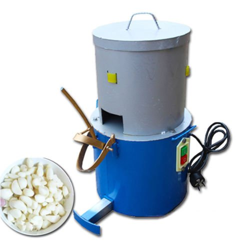 220V Electric Household and Commercial Garlic Peeler Peeling Machine 150W 20KG h