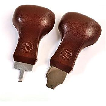MKS[明工舎] スーパーコジ明け 先端が広い[9ミリ]タイプ49310と細い[4ミリ]タイプ49320の2個セット 茶色のベークライトハンドル